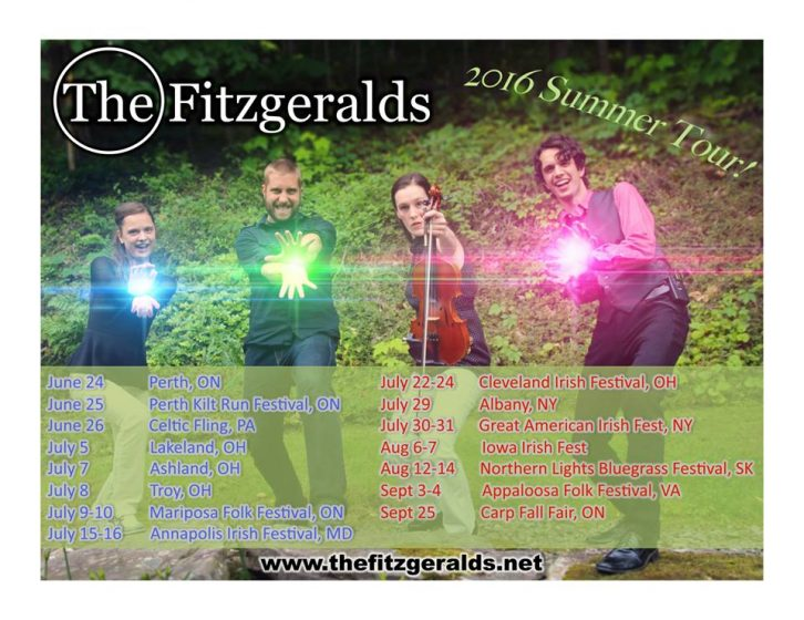 The Fitzgeralds Summer Tour
