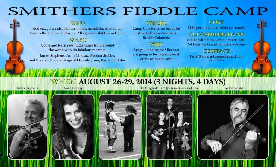 Fiddle Camp Poster