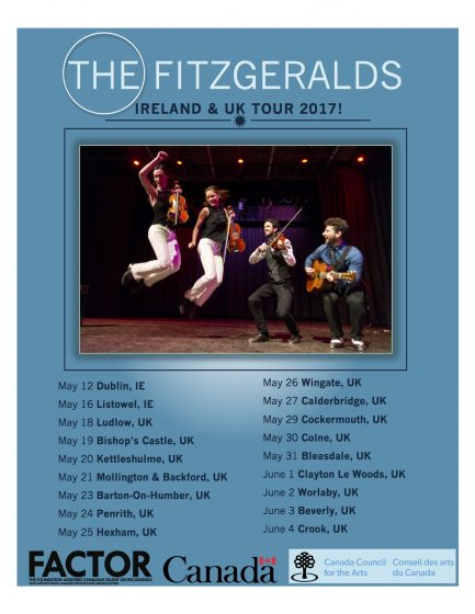 UK Poster The Fitzgeralds - Canada